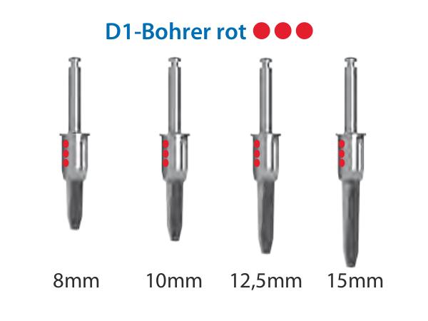 ICX-Magellan D1-Bohrer rot Ø3,75mm