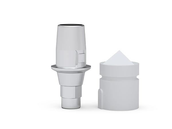 ICX-Cerec-Klebeabutment hex 1mm für Cerec L