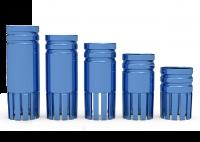ICX-Bohrstophülse Ø 4,8mm, blau 8mm
