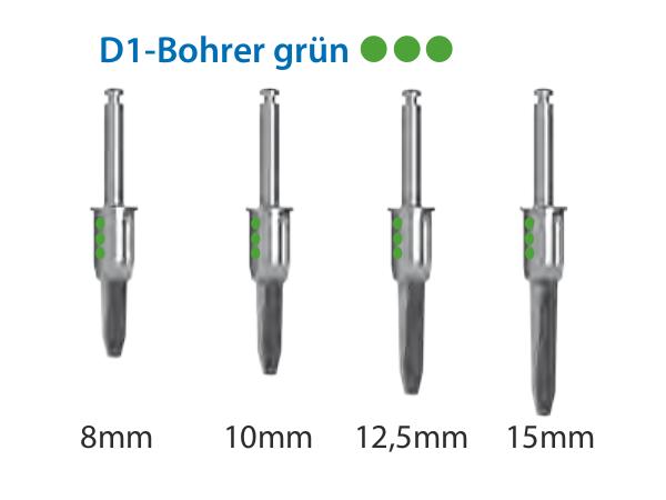 ICX-Magellan D1-Bohrer grün Ø4,1mm