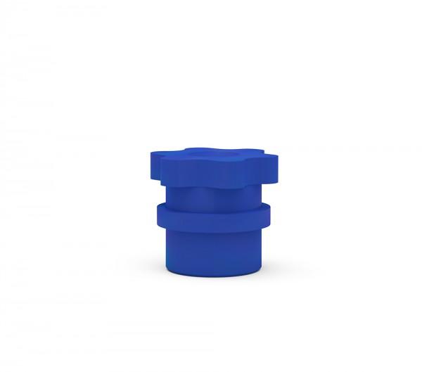 ICX-Abdruckkappe, blau, 10er Pack