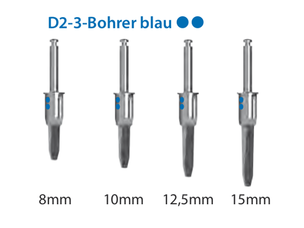 ICX-Magellan D2-3-Bohrer blau Ø4,8mm