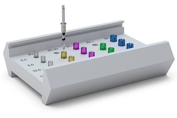 ICX-Bohrstophülsen-Box (inkl. 15 Bohrstophülsen)