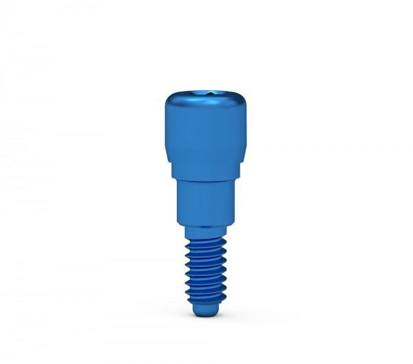 ICX-Verschlußschraube GH 2mm,Titan blau