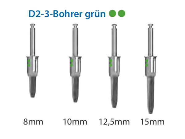 ICX-Magellan D2-3-Bohrer grün Ø4,1mm