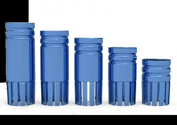 ICX-Bohrstophülse Ø 4,8mm, blau
