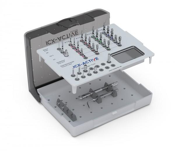 ICX-ACTIVE-MASTER-Chirurgiebox, gefüllt