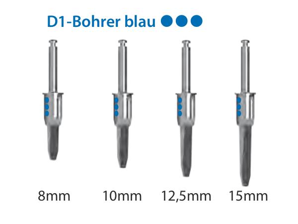 ICX-Magellan D1-Bohrer blau Ø4,8mm