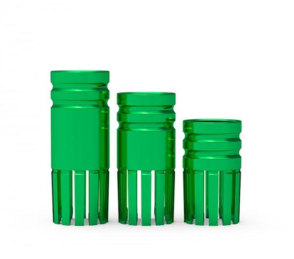 ICX-Bohrstophülse Ø 4,1mm, grün