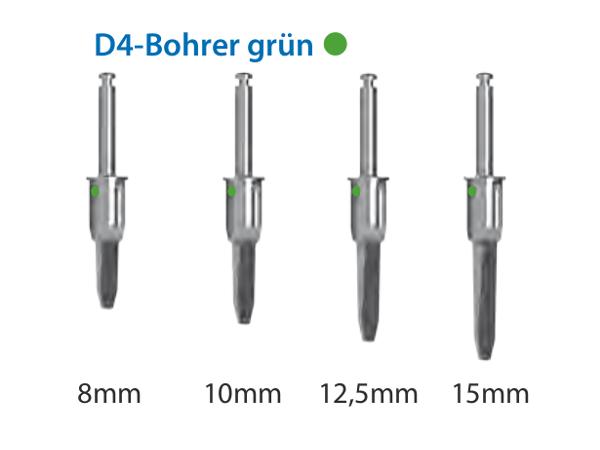ICX-Magellan D4-Bohrer grün Ø4,1mm